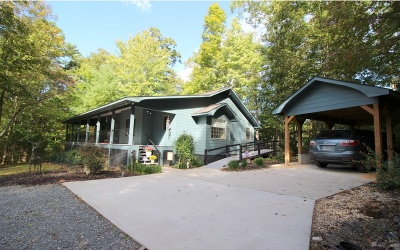 Cherry Log Single Family Home For Sale: 5786 Rock Creek Road