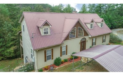 Ellijay Single Family Home For Sale: 514 Malory Circle