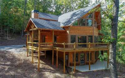 Blue Ridge Single Family Home For Sale: 99 Makawee Trail