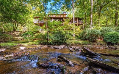 Mineral Bluff Single Family Home For Sale: 870 Wolf Creek Estates
