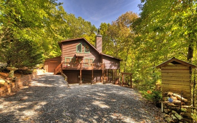 Blue Ridge Single Family Home For Sale: 73 Cherokee Drive