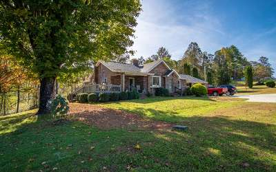Hiawassee Single Family Home For Sale: 6136 Us Hwy 76 E