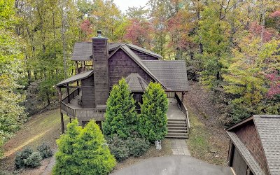 Hiawassee Single Family Home For Sale: 6955 Fly Rod