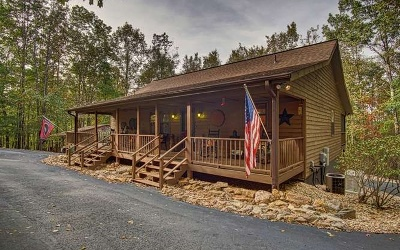 Blairsville Single Family Home For Sale: 191 Deer Run Rd