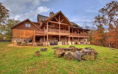 Blue Ridge Single Family Home For Sale: 98 S Saddleback Trail