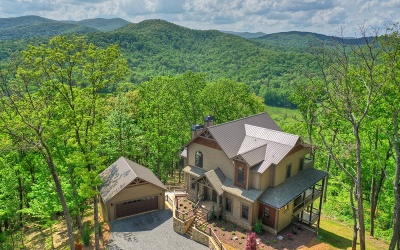 Cherry Log Single Family Home For Sale: 307 Heights Overlook