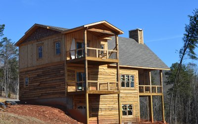 Mineral Bluff Single Family Home For Sale: Lt 35 Bear Mountain