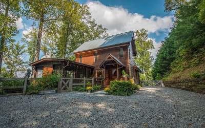 Blue Ridge Single Family Home For Sale: 722 Mtn Highlands Ct