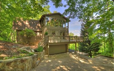 Ellijay Single Family Home For Sale: 747 Walnut Mountain Rd
