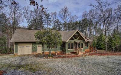 Blairsville GA Single Family Home For Sale: $324,999
