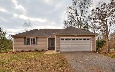 Ellijay Single Family Home For Sale: 311 Flat Creek Church Rd