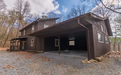 Ellijay Single Family Home For Sale: 4150 Tails Creek Rd