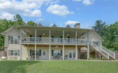 Blairsville Single Family Home For Sale: 307 Vista Ridge