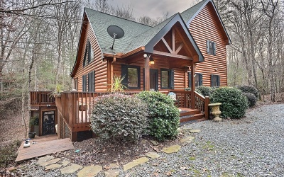 Blue Ridge Single Family Home For Sale: 80 North Hiawatha Trail