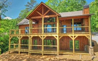 Blue Ridge Single Family Home For Sale: 841 Sunrock Mountain Rd