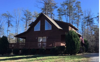 Young Harris GA Single Family Home For Sale: $170,000