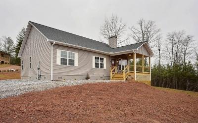 Blairsville Single Family Home For Sale: 198 Ledgestone Dr