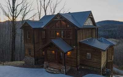Blue Ridge Single Family Home For Sale: 242 Covered Bridge Lane
