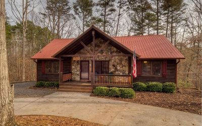 Ellijay Single Family Home For Sale: 544 Eagle Mountain Dr E