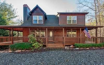 Suches Single Family Home For Sale: 77 Ash Ridge