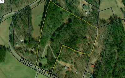 Warne Residential Lots & Land For Sale: 9.57 Ac Pine Log Rd