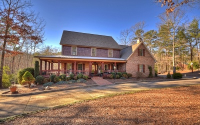 Blue Ridge Single Family Home For Sale: 2545 Mountain Tops Rd