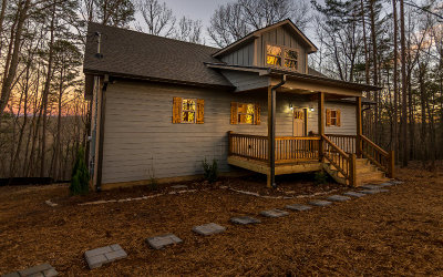 Ellijay Single Family Home For Sale: 30 Water Tower Villa Cr