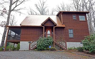 Hiawassee Single Family Home For Sale: 1526 Hill Crest Spur