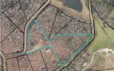 Fannin County Residential Lots & Land For Sale: Lt 13 Whispering Hawk