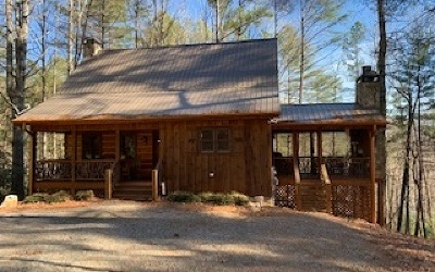 Blue Ridge Single Family Home For Sale: 191 Cozy Cove