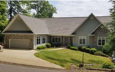 Hayesville Single Family Home For Sale: 161 Lake Shore Drive