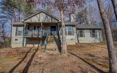 Blairsville Single Family Home For Sale: 65 Fields Branch Ln