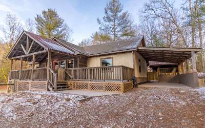 Suches Single Family Home For Sale: 412 Skeenah Gap Branch