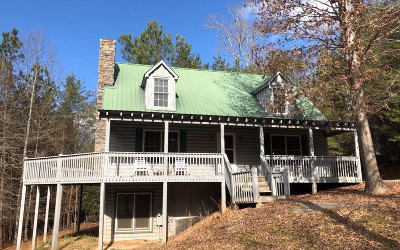 Ellijay Single Family Home For Sale: 257 Whitewater Run