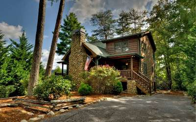 Blue Ridge Single Family Home For Sale: 14 Sunrise Gap