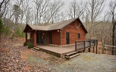 Ellijay Single Family Home For Sale: 82 Oak Leaf Lane