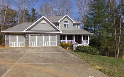 Ellijay Single Family Home For Sale: 606 The Oaks Drive