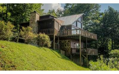 Blue Ridge Single Family Home For Sale: 198 Sunrock Mountain Tr.