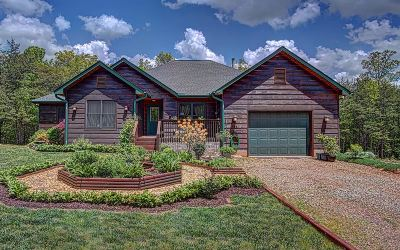 Blairsville Single Family Home For Sale: 143 Captains Knoll