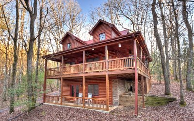 Blue Ridge Single Family Home For Sale: 890 Mountain Lake