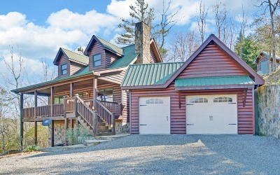 Hiawassee Single Family Home For Sale: 1703 Sheep Cliff Rd