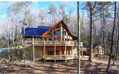 Gilmer County Single Family Home For Sale: 200 Foxtrot Lane