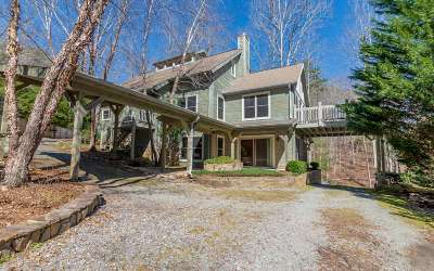Blue Ridge Single Family Home For Sale: 2399 Mountain Tops Rd