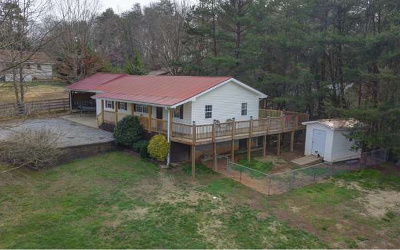 Blairsville Single Family Home For Sale: 103 Hollow Hill Road