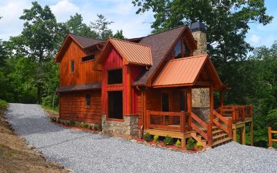 Fannin County Single Family Home For Sale: 504 Ridge Brook Trail