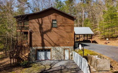 Ellijay Single Family Home For Sale: 15 Misty Hollow Rd