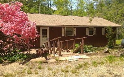 Blairsville Single Family Home For Sale: 121 Low Creek Lane
