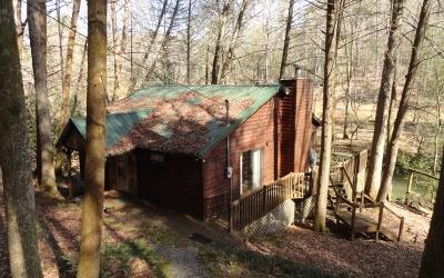 Blue Ridge Single Family Home For Sale: 420 Hemlock Trail
