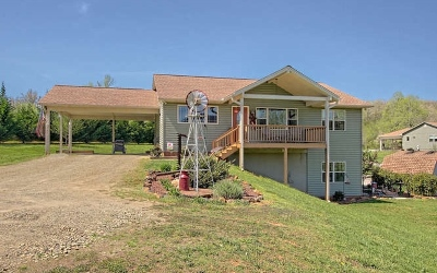 Blairsville Single Family Home For Sale: 2281 Liberty Church Road