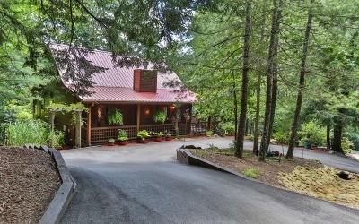 Cherry Log Single Family Home For Sale: 283 Crestview Lane